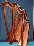 Paraguayan and Celtic harps